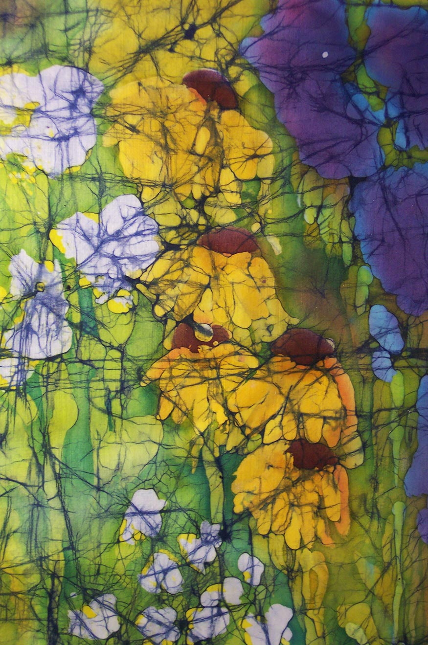 Fiber Art By Judy Saye Willis Natural Synthetic Dyed