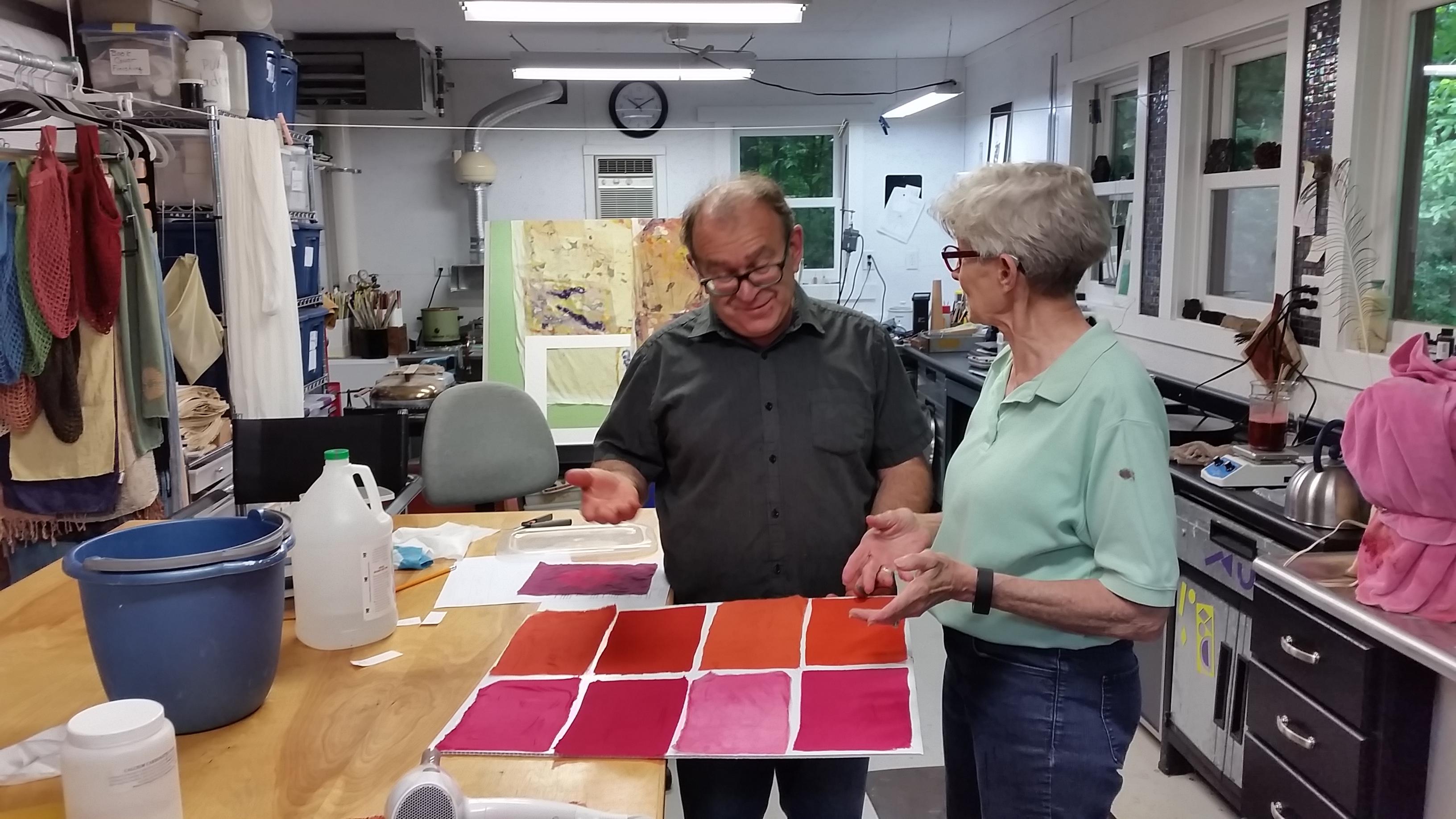 Michel Garcia at my studio