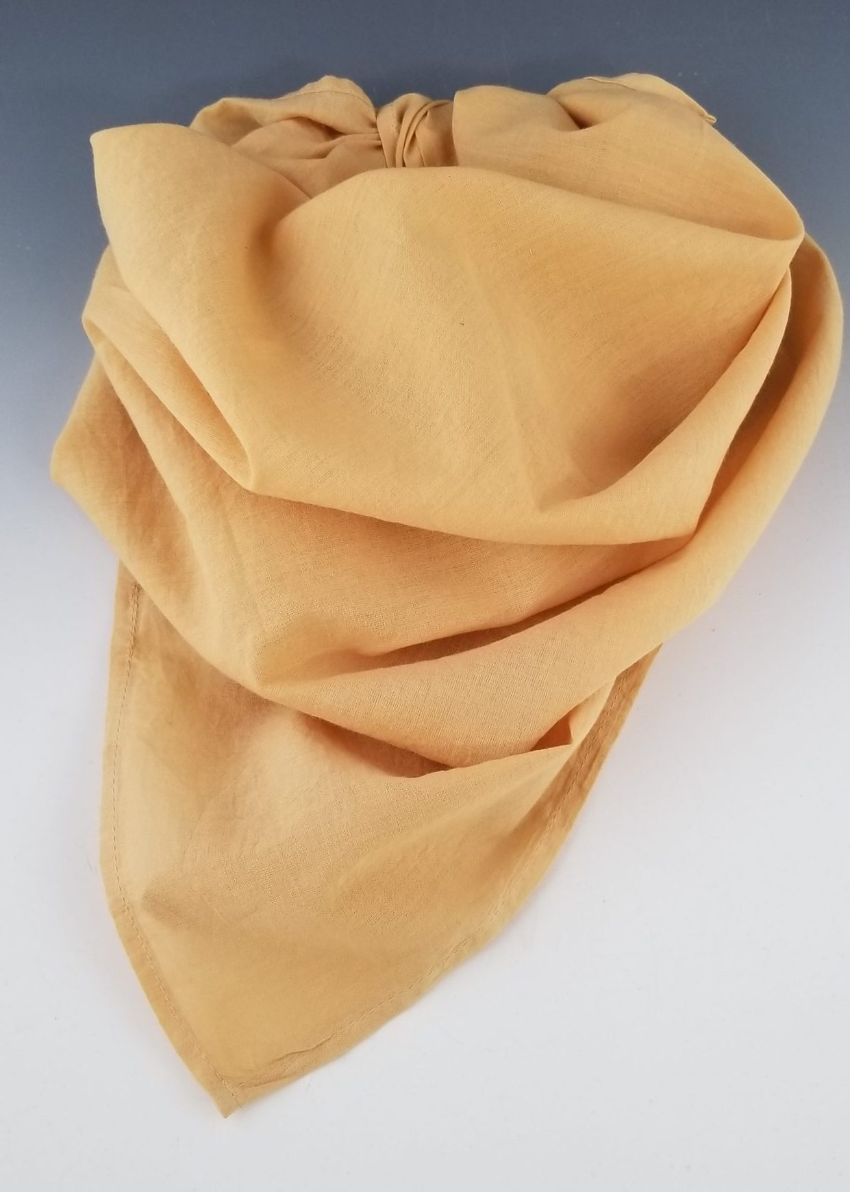 Organic Cotton Bandana-golden rod