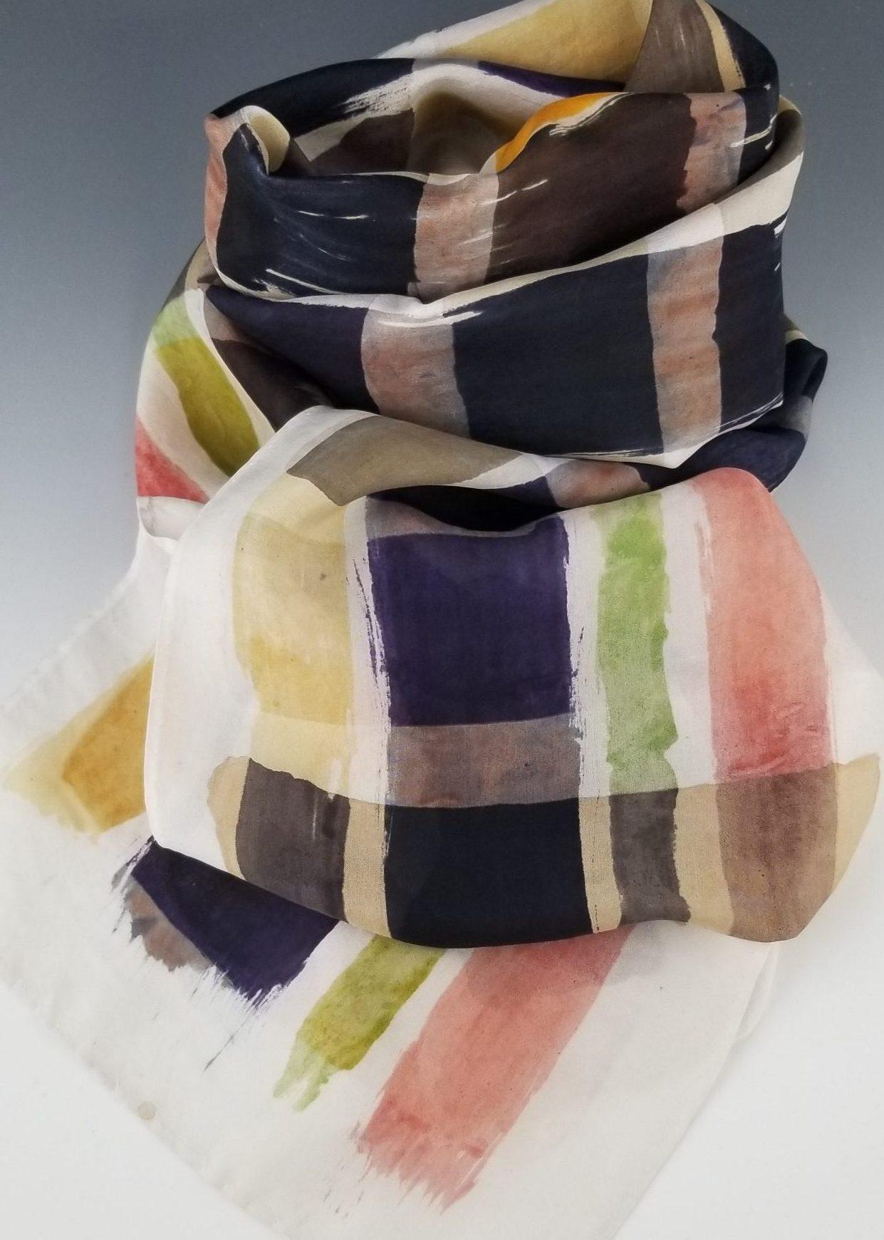 Habotai Designer Silk Scarf